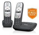 Gigaset A455A Cordless Telephone with Nuisance Call Blocking & Answer Machine – Twin £34.99 at Argos