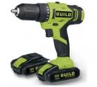 Guild 1.5AH Li-ion Cordless Drill Driver and 2 18V Batteries £39.99 at Argos