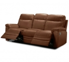 Collection New Paolo 3 Seater Manual Recliner Sofa – Tan £407.99 at Argos