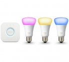 Philips Hue LED Colour Ambiance Wireless E27 Starter Kit £116.99 at Argos