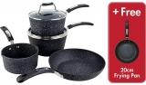 Scoville Neverstick 5 Piece Cookware Set £35 @ Asda George