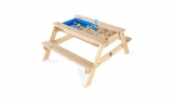 Plum Surfside Sand & Water Wooden Picnic Table £89 at Asda George