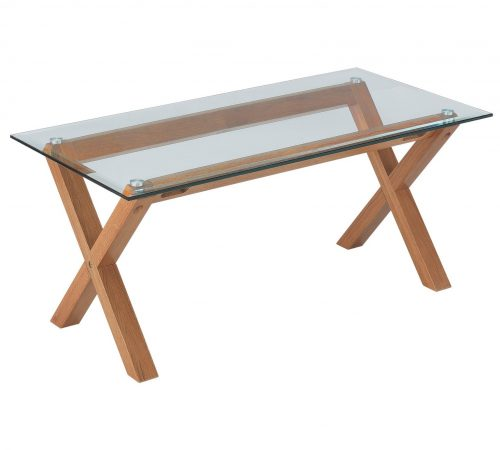Glass Coffee Tables Argos: Heart Of House Oakington Glass Top Coffee Table £59.99 At