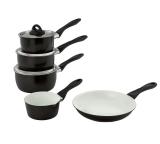 Argos Home 5 Piece Ceramic Non-Stick Copper Pan Set £32.99 @ Argos