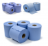 6 x Workshop Hand Towels Rolls 2 Ply Centre feed Rolls Wipes £8.99 at eBay