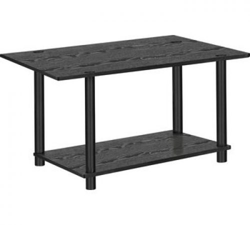 Home Verona 1 Shelf Coffee Table Black 1399 At Argos