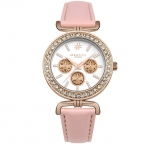 Identity London Rose Stone Set Nude Strap Watch £8.99 at Argos