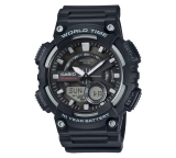 Casio World Time Telememo Black Combi Watch £23.99 at Argos