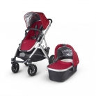 UPPAbaby VISTA Pushchair and Carrycot, Denny Red £469.99 at Amazon – Ends Today