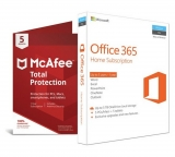 Microsoft Office 365 Home and McAfee TP – 5 Devices £59.99 at Argos