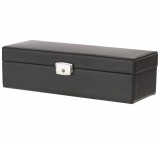 Men's Black Watch & Cufflink Box with 4 Compartments £6.99 at Argos