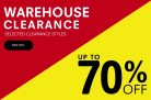 Up to 70% Off Warehouse Clearance @ Regatta Outlet