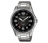 Casio Men's Black Dial Stainless Steel Bracelet Watch £30.99 at Argos