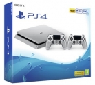 PS4 Slim console 500GB Silver with Two DUALSHOCK4 Wireless Controllers £249.99 at Argos