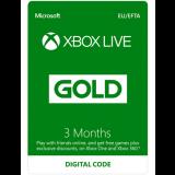 6 Months Xbox Live Gold Membership (3 Months + 3 Free Bonus Months) £14.99 at GAME