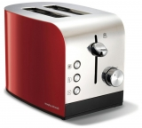 Morphy Richards Equip 2 Slice Stainless Steel Toaster – Red £25.99 @ Argos