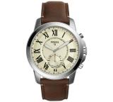 Fossil Q Grant Leather Strap Hybrid Smart Watch FTW1118 – £79.99 @ Argos