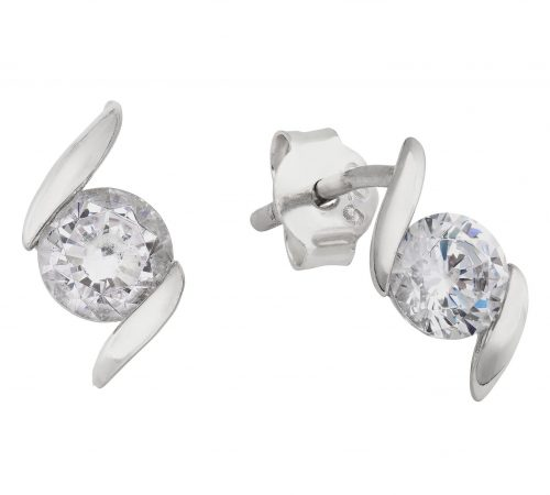 0260750d3572a Cubic Zirconia Stud Earrings Argos - Best All Earring Photos ...