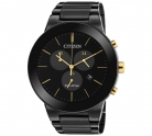 Citizen Men's Eco-Drive Axiom Black IP Chronograph Watch £129.99 at Argos