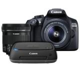 Canon EOS 1300D DSLR Camera with 18-55mm & 10-18mm Lenses £439.99 @ Argos