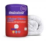 Slumberdown Winter Warm 15 Tog Duvet – Kingsize £23.99 @ Argos