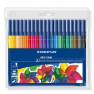 Staedtler Noris Club 326 WP20 Fibre Tip Pen in Wallet, Assorted Colours, Pack of 20 – £5.70 at Amazon