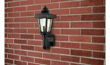 Argos Home LED Solar Outdoor Wall Light – Black £2.49 @ Argos