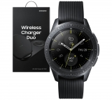 Samsung Galaxy 42mm Smart Watch with Free Wireless Dual Charger Bundle – Black £279 at Argos