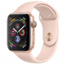 Apple Watch Series 4 GPS – 40mm Gold Aluminum Case with Pink Sand Sport Band – MU682 £355.99 @ Toby Deals