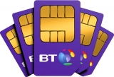 4GB Data, Unlimited Mins & Texts + £60 Amazon / iTunes Gift Card £11 pm 12/mths BT SIMO Deal