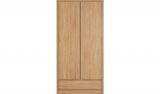 Leighton 2 Door Wardrobe – Oak Effect £129 @ Asda George