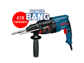 Bosch Rotary Hammer Drill £95.95 with Code + £15 Cashback £70.95 at UK Tool Centre