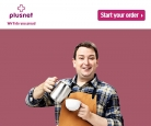 Unlimited Business Fibre (76Mb) Broadband £18 p/m for 24 Months Contract When Taken with Line Rental Plusnet