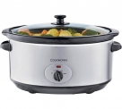 Cookworks 5.5L Stainless Steel Slow Cooker £13.99 at Argos