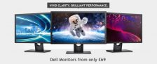 Dell Monitors from Only £59 at Dell Refurbished