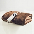 Dreamland Relaxwell 16335 Intelliheat Heated Velvet Lap Blanket – Chocolate £39.99 at Co-op Electrical