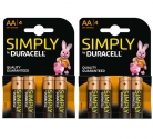 Duracell AA Batteries 8 Pack £1 at the PoundShop