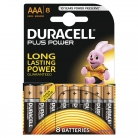 Duracell Plus Power Alkaline Batteries AAA LR03 1.5V Pack of 8 – £3.75 at Wilko