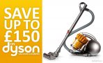 Save up to £150 on Dyson Vacuum Cleaners