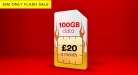 100GB Data + 5000 Mins & Unlimited Texts for Only £20 at Virgin Mobile – Ends Soon