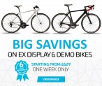 BIG SAVINGS on Ex Display & Demo Bikes, from £560 at Ribble Cycles – One Week Only Deal