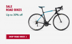 Get up 30% Off ALL 2018 Bikes and up to 60% off Clothing @ Evans Cycles