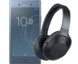 Sony Xperia XZ1 with 6GB Data, Unlimited Mins & Texts + Free Sony MDR-1000X Headphones (worth £300) for £31 a Month for 24 Months with £30 upfront (£774 total) at Vodafone