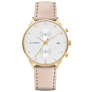 Watch Chrono Line White Sand IP Gold Leather Watch Strap Hazelnut £159.95 @ Paul Hewitt