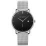 Watch Grand Atlantic Line Black Sea Stainless Steel Mesh Strap £120.00 @ Paul Hewitt