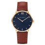 Watch Sailor Line Blue Lagoon IP Gold Leather Watch Strap Brown £149.95 @ Paul Hewitt