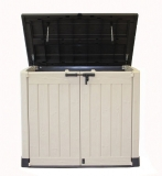 Keter Store It Out Max Plastic Garden & Wheelie Bin Storage Beige & Brown (4 x 5 ft) £95 at Wickes