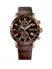BOSS Rafale Chronograph Dial Brown Leather Strap Mens Watch  £249.00 at Very