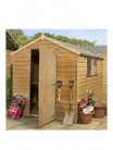 MERCIA 8 X 6ft Overlap Apex Shed £269.99 at Very