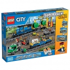 LEGO City 66493 Remote Control Cargo Train, Station, Tracks and Power Functions 4 in 1 Super Pack £140 at John Lewis